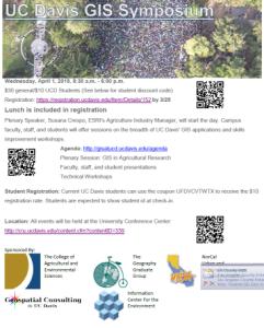 UC Davis GIS Symposium